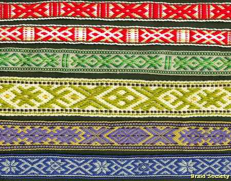 The Braid Society - Inkle and Rigid Heddle Band Weaving
